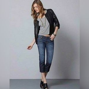 CITIZENS OF HUMANITY Low Waist Cropped Jeans COH